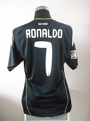 Cristiano RONALDO #7 Real Madrid Away Football Shirt Jersey 2010/11 (L)