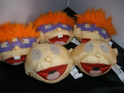 Rugrats beanbag head Chuckie and Tommy lot of 5