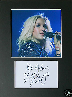 Ellie Goulding signed mounted autograph 8x6 photo print display  #A5s
