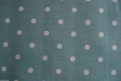 130cm x 46cm dotty duck egg craft remnant PVC wipe clean oilcloth TABLECLOTH CO