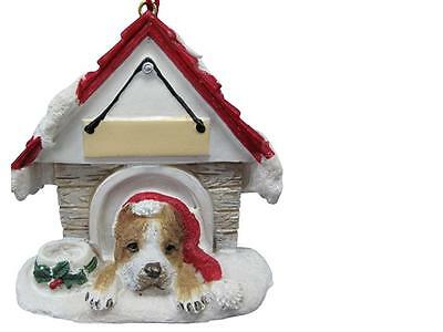 PITBULL Doghouse Ornament -- PERSONALIZED FREE!