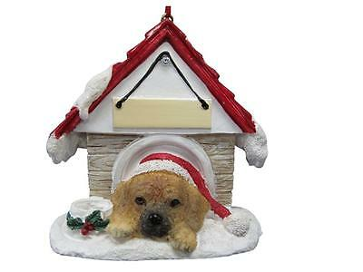 PUGGLE Doghouse Ornament -- PERSONALIZED FREE!