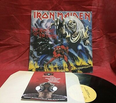 Iron Maiden ‎– The Number Of The Beast - Vinyl, Lp, RE - Ristampa Italiana 1987
