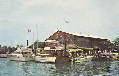 ST MICHAELS , Maryland, 1950-60s ; Crab Claw Restaurant