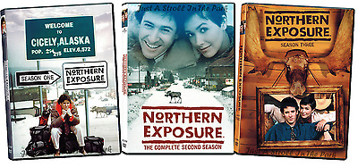 Northern Exposure: 1990s TV Series Complete Seasons 1 2 3 Box / DVD Set(s) NEW!