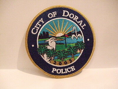 police patch CITY OF DORAL  POLICE FLORIDA
