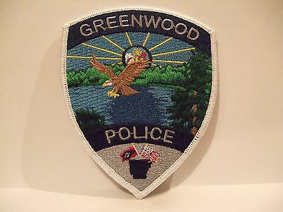 police patch  GREENWOOD POLICE ARKANSAS