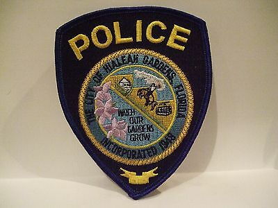 police patch  HIALEAH GARDENS POLICE  FLORIDA