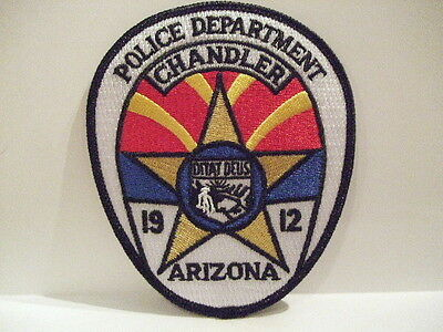 police patch CHANDLER POLICE ARIZONA