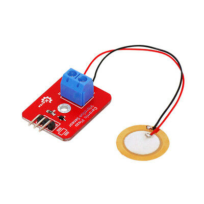 RCmall Analog Ceramic Piezoelectric Vibration Sensor for Arduino UNO Controller