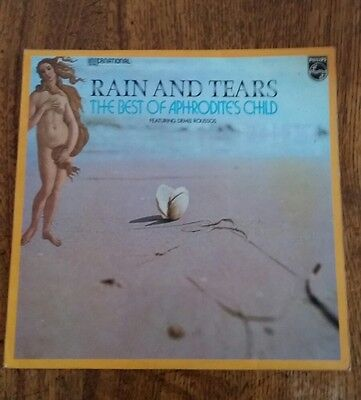 The Best Of Aphrodite's Child ~ Rain And Tears. Uk Philips  Lp 1972