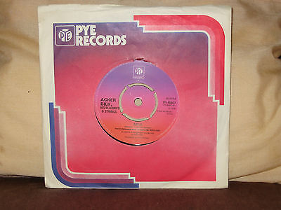 """ACKER BILK, His Clarinet & Strings - Aria / The Fool On The Hill 1976 UK 7"""""""