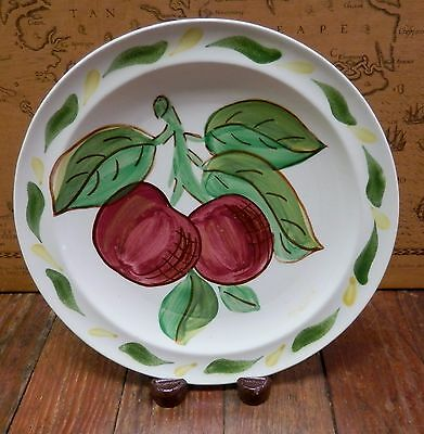 Vtg - Blue Ridge Southern Potteries Hand Painted FRUIT COCKTAIL PLATE - ASTOR