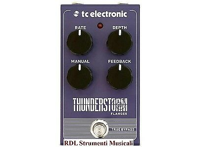 Tc Electronic Thunderstorm Flanger Effetto Flanger A Pedale Per Chitarra