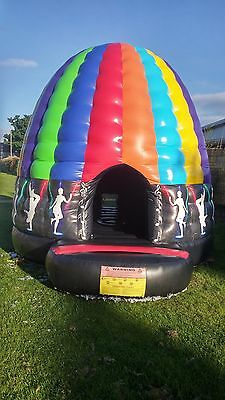 Disco Dome Bouncy Castle Inflatable For Sale