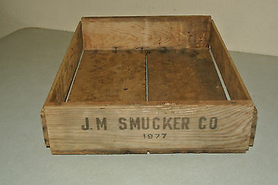 Smuckers Jam Jelly Box 1977