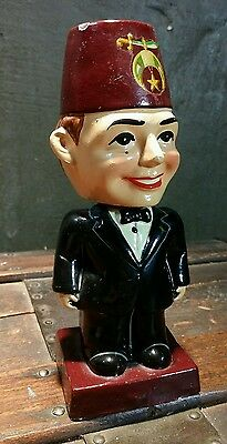Vintage 1960's Shriner Bobblehead Japan