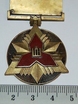 "Lithuania. Medal ""For a good 5 years service in Volunt. N. D. Service"",1996 RARE"