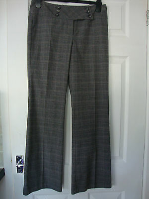 George Black/Brown Mix trousers size 10