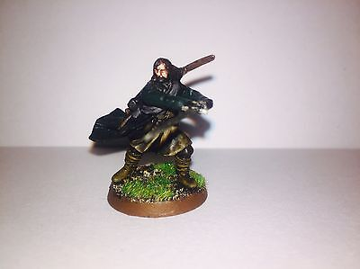 Well Painted And Based Aragorn Lord Of The Rings Warhammer Miniature