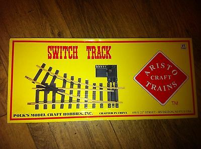 Aristo Craft Trains Switch Track #1 Gauge