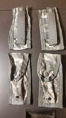 Total Of 4 !! Us Military Surplus Molle Ii 9Mm Magazine Case**new**