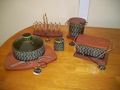 Retro Wyncraft Tableware Lord Nelson Pottery unused lovely