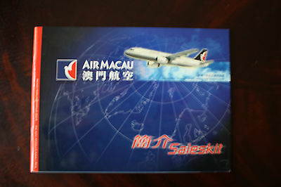 Marketing Brochure Air Macau Saleskit