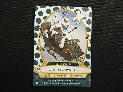 Disney Sorcerers Of The Magic Kingdom Christmas Party 2015 Olaf's Snowgies Card