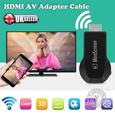 USB 1080P HDMI AV Adapter Cable for Samsung Galaxy S6 S7 / S7 edge to HD TV UK