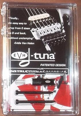EVH® D-Tuna Drop D Tuning System For Floyd Rose Bridges~Black~USA~Brand New