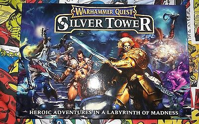 warhammer quest silver tower plus extras