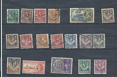 Northern Rhodesia stamps. Small used lot.. (X242)