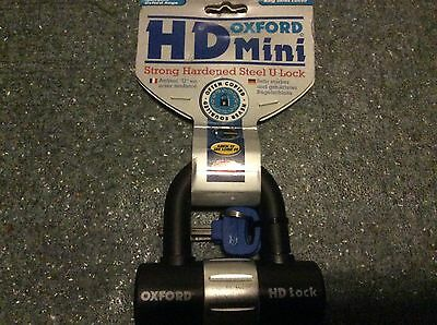 Oxford Heavy Duty Motorcycle Scooter Bicycle Sold Secure Shackle Disc Lock OF161