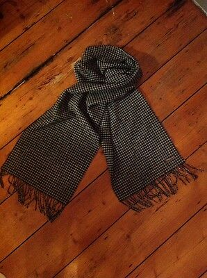 Monoprix homme dog tooth scarf