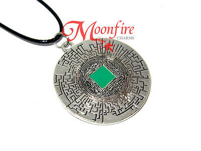 The Maze Runner The Glade And The Maze Pendant Necklace Scorch Trials Greenie