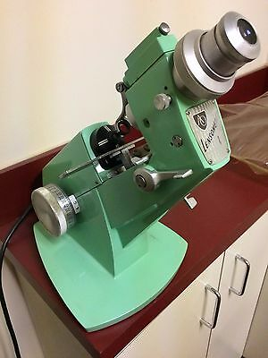 Vintage Lensmeter Lensometer American Optical Optometry Green