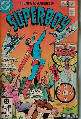 The New Adventures Of Superboy # 28