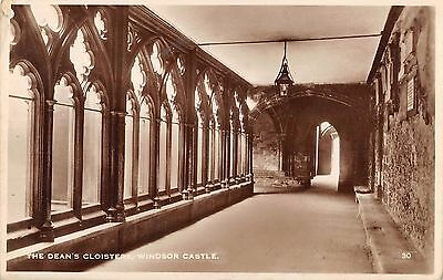 BR94384 the dean s cloisters windsor castle real photo   uk