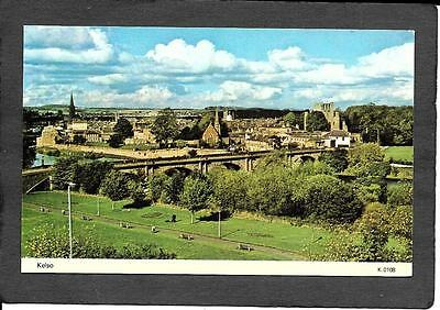 Roxburghshire; Kelso, Panorama View . Colour. Postcard