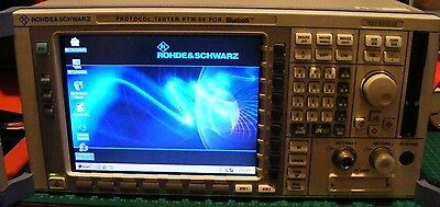 Rohde & Schwarz Protocol Tester PTW 60 For Bluetooth + Dongle 1133.3006.02