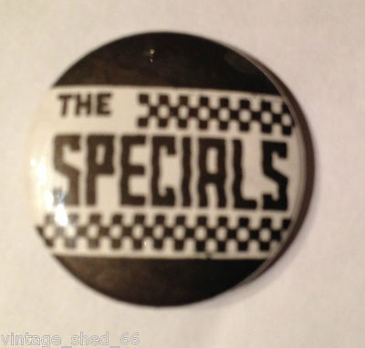"""The Specials 1"""" Badge Ska Mod 2-Tone Madness Selecter Bad Manners"""