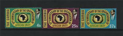 Gambia 1973 African Unity SG 309/11 MNH