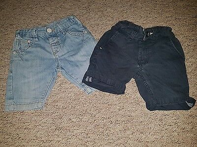 2 pairs of boys shorts from next.age 2 - 3 and 3 years.