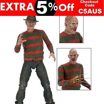 A Nightmare on Elm Street - Freddy Krueger 1:4 Scale Action Figure By NECA NEW