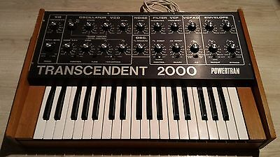 Powertran Transcendent 2000 -serviced- synth synthesizer Joy Division