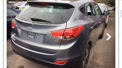 2013 Hyundai IX35 STATUTORY WRITEOFF SE HIGHLANDER ELITE LEATHER