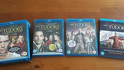 The Tudors The Complete Series 1-4 Blu-Ray