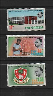 Gambia 1975 Cent. Gambia High School SG 339/41 MNH