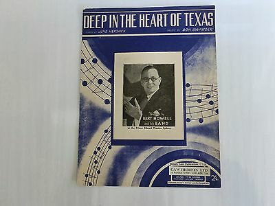 1941 Deep In The Heart Of Texas